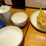 麺やひだまり - 谷中餃子(三個)