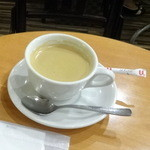カフェ・ド・ボア - モーニングトーストセット880円のブレンドコーヒー