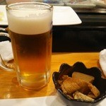 49012236 - 生ビールとお通し
