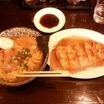 49015948 - 昔風中華そば+羽餃子