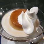 茶豆湯 - 珈琲ゼリー&自家製プリン:648円