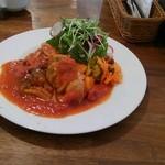 49016293 - 鶏と野菜トマト煮