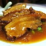 49017062 - 豚バラ肉角切り醤油煮〔16/3/21撮影〕→軟らか、皮の部分が美味しい。
