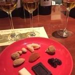 マデイラ エントラーダ - チョコレートやナッツ、チーズとともに