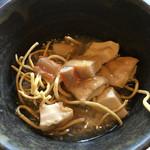 然の膳  - 豆腐のカニ身あんかけ