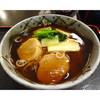 松寿庵 - 料理写真:あんかけ蕎麦