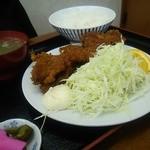 ニコニコ亭 - ソースカツ定食