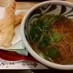天一更科 - 天ぷら蕎麦