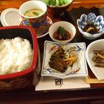 松田うなぎ屋 - うなぎ会席膳(価格不明4000円くらい?)