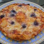 4902746 - ブルーベリーピザ。
