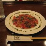 ダイニングセラー1109 - 「真サバのトマトマリネ」です。