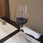 モダンカタランスパニッシュ ビキニ - グラス赤ワイン Free!