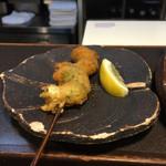 壺天 - 料理写真:海老しそ