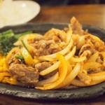 カフェレストラン マヤ - 牛肉の鉄板焼き