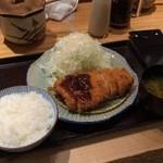 49023092 - ロースカツ定食