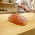 鮨 あらい - 金目鯛