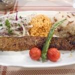 トルコ料理 ドルジャマフセン - アダナ・ケバブ