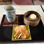 茶寮 風花 - 昆布茶 と うさぎ