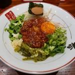 元祖熟成細麺 香来 - 台湾まぜそば(680円)