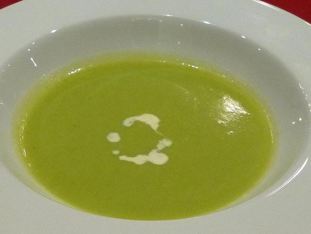 プードル - ランチ:ポーク&海老フライランチセット スープ