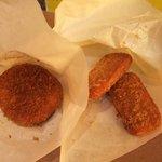 肉の大山 - やみつきコロッケとハムカツ