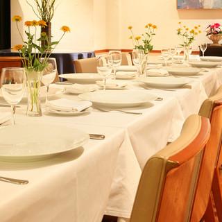 ウェディングや結納、ご会食にもご利用いただけます。各種パーティーにどうぞ。