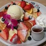 49031980 - カイラ オリジナル パンケーキ ハワイアンサイズ 2300円  アイストッピング +230円