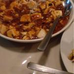 南国亭 - 辛味が効いた麻婆豆腐