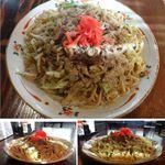 さの食堂 - 富士宮やきそば 大盛り さの食堂(富士宮市)食彩品館.jp撮影