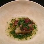 日本料理 楮山 - 蛍烏賊と菜の花