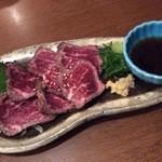 おっぺけ亭 - 肉のタタキ