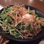 おっぺけ亭 - 水菜のサラダ