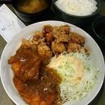 一番どり - 「カレー鶏かつ定食」780円