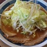 佑ちゃん亭 - 野菜とんこつ醤油 580円
