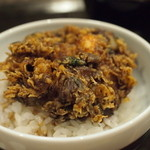 カブ - 海老の掻き揚げ小天丼