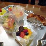 京橋千疋屋 フルーツパーラー - ケーキのサンプルです☆
