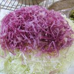 カンポフェリーチェ - 生野菜(レッドキャベツ&コールスロー)