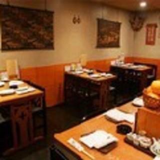 鍋料理、コース料理の予約優先テーブル席14名迄