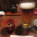 まんぎょく - 生ビール