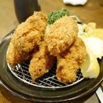 シチュー屋 - 牡蠣フライ¥650