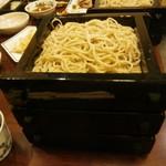 和楽庵 - 蕎麦、大盛りは3枚、、