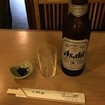 はし本 - ビール大瓶800円