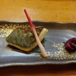 よこ瀬鮨 - 焼き物(おまかせコース4,500円)