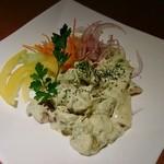 あみ焼割烹幸だるまなごみ - マグロとアボカドのサラダ