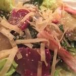 くしや - 海の幸サラダ750円(税別)