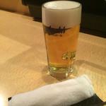 くしや - 生ビール1杯目♪