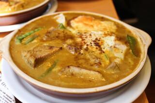Kikuya Curry - ジャガイモ+豚バラ