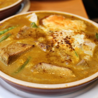 Kikuya Curry - 料理写真:ジャガイモ+豚バラ