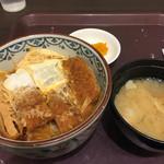 東京シェフズキッチン とんかつ 銀座 梅林 - カツ丼