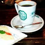 羅布乃瑠 沙羅英慕 - ブレンドコーヒーとシフォンケーキ